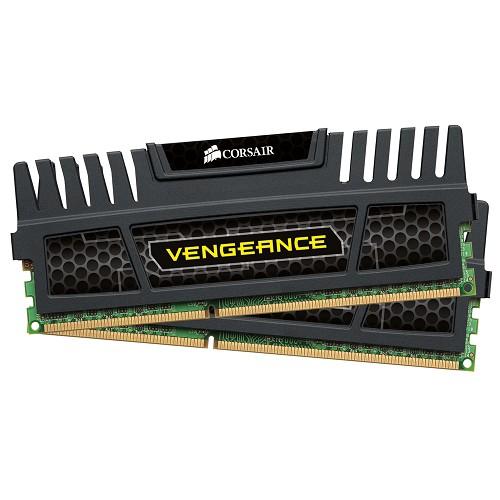 CORSAIR Memory PC 2 x 8GB DDR3 PC-12800 [Vengeance CMZ16GX3M2A1600C10] - Memory Desktop Ddr3